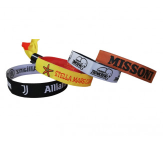 Embroidered Wristband Fabric  - art. 2005 cr