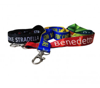 Lanyards in raso Full Color